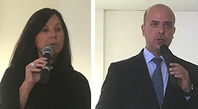 Angela Furtado e Carlos Alexandre Da Costa